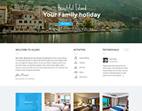 Holiday Web Layout