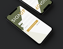 Sign Up Demo UI/UX