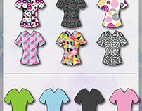Graphic Scrubs