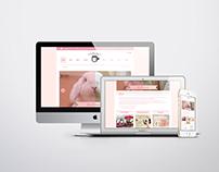 ウサギとカフェ: Website Redesign