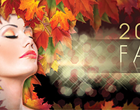 Fall Beauty Show - Banner 3.5' x 13.5'
