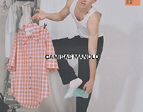 Camisas Manolo S/S'21 campaign