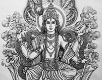 Vishnu विष्णु Guardian of the Universe