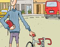 Bike comic