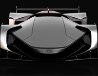 Audi Future Le Mans Vision Car & Racing Shoes