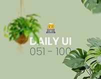 Daily UI | 051 - 100