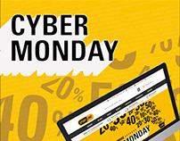 Cybermonday campaign for Sportline