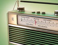 Retro Radios - 3D