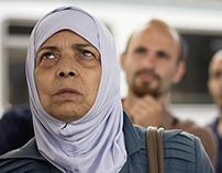 Siriani in transito