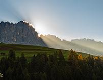 Dolomiten Herbst 2018