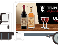 Templeton Rye Delivery Truck