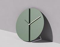 """SPLIT - """"the easiest clock to hang"""""""