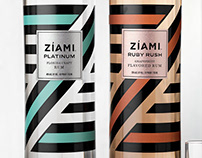 Zíami (Florida Rum Company) Packaging & Logo Design