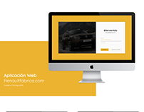 Aplicación Web - Renaultfabrica.com