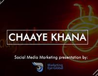 Chaaye Khana Presentation Design