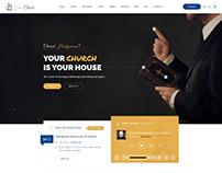 Grace Church - Charity & Church Bootstrap PSD Template