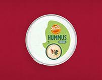Hummus Orignal Packaging Design