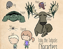 Tadpole Pond Characters