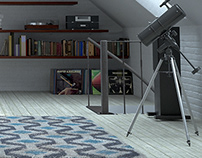 Modernist Apartment CGI