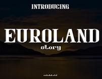Euroland story Reguler Serif Font
