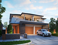 Semi-D House, AU