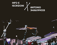 A3 Poster | Drum lessons