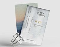 鍾宇哲攝影師名片設計