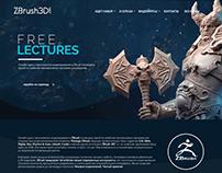 ZBrush3D - website