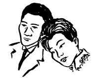 Escenas ilustradas del cine