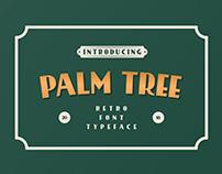 FREE FONT - PALMTREE RETRO FONT STYLE