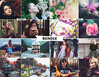 5 IN 1 Photoshop Actions Download Bundle