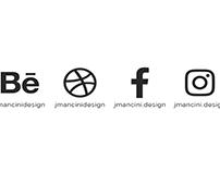 J Mancini Design Business Card