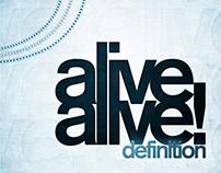 Alive Alive! - Definition Album Art