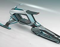 Volkswagen e-sled concept