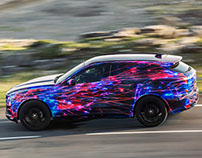 Jaguar - F-PACE launch