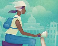 Vespa - Travel Poster - Affinity Designer