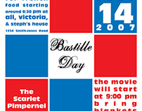 Bastille Day Invitations Over the Years