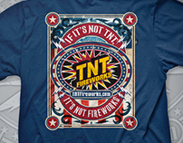 TNT Fireworks T-Shirt Designs