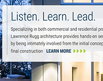 Lawrence Rugg Architecture Website