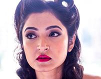 Vintage Pinup Style Photoshoot - Model Jui Chandra