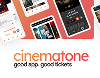 Cinematone App UI/UX Design