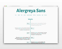 Alergreya Sans & Small Caps