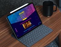 BrainBoy - Fun show - Landing Page Design