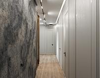 Interior Visualization for designer Valeria Romashko