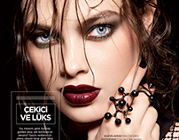 """attractive and luxerious"" beauty story for bestyle mag"