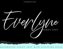 Everlyne Handwritten Font