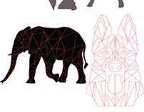 3 Polygon Animals