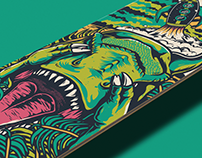 Dinosaurs Will Die - Skateboard Deck