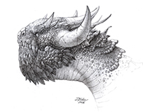 Dragon head design