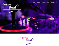 On The Beat - Website